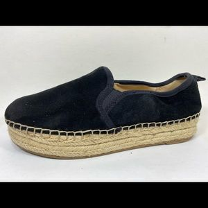 Sam Edelman Carrin Suede Leather Espadrille 6.5M